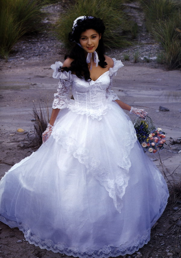 Character wedding gown