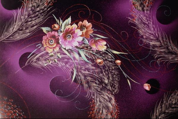 花朵 麦穗 插入 中华刺绣-艺术-艺术,中华刺绣