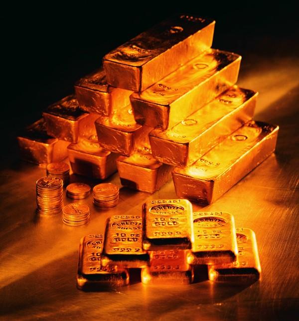 黄金纵横图片-金融图 堆放 阶梯 金条,金融,黄金