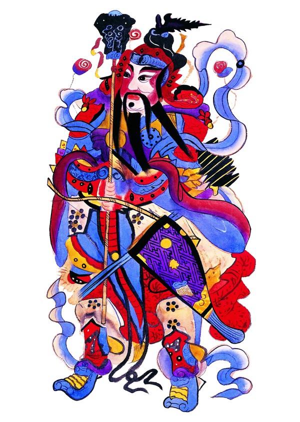 中国民间门神大全  - qiufeng777 - qiufeng777