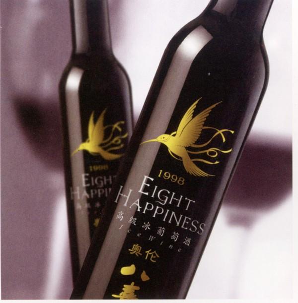 华文设计年鉴-包装卷-饮食 奥伦 冰葡萄酒 高级酒图片