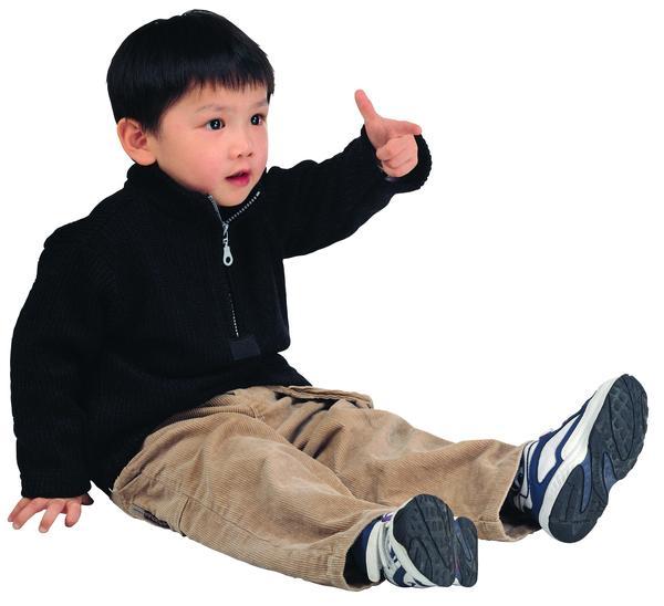 儿童写真图片-人物图 运动装 手势 坐着,人物,儿