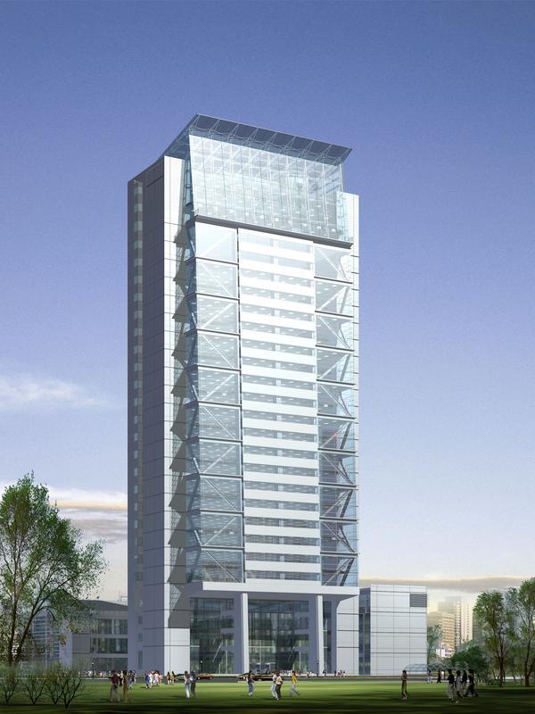 合肥电力公司电网生产调度楼图片-国内建筑设
