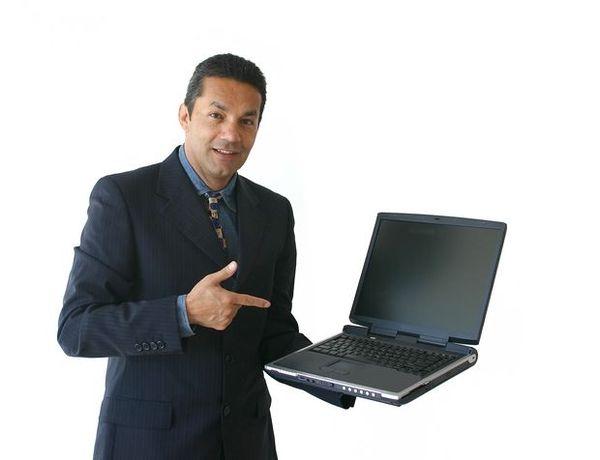 推销电脑_商业举止图片-商业图 推销 笔记本 电脑,商业,商业举止类