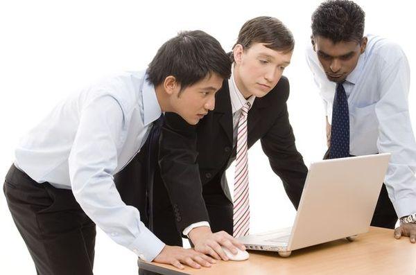 团队精神图片 商业图 笔记本 办公桌 商讨,商业,团队精神