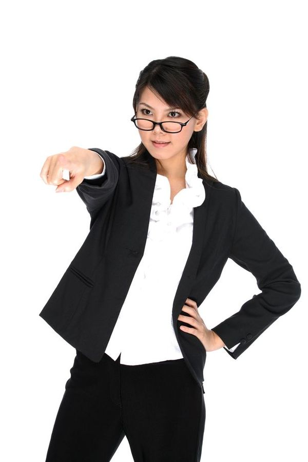 女性上班族图 商业图片