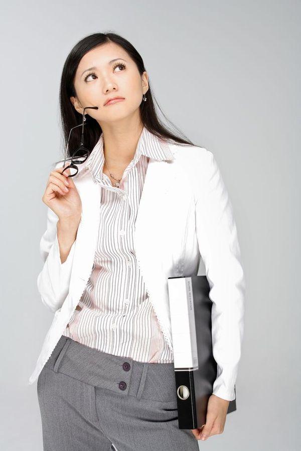 女性秘书图 商业图片