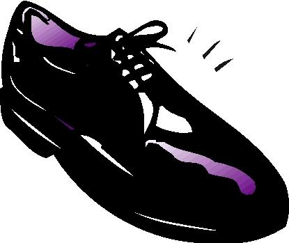 流图 铮亮的皮鞋