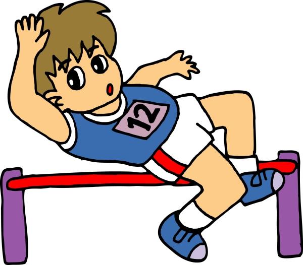 运动卡通图片 运动卡通图片漫画卡通图运动女孩排球女孩卡