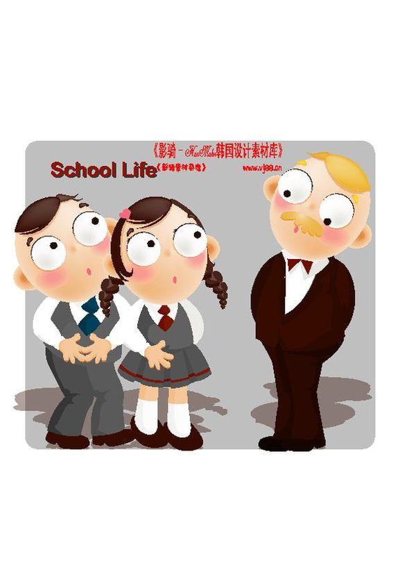 学生课堂图片-人物图面对老师教导,人物,学生课