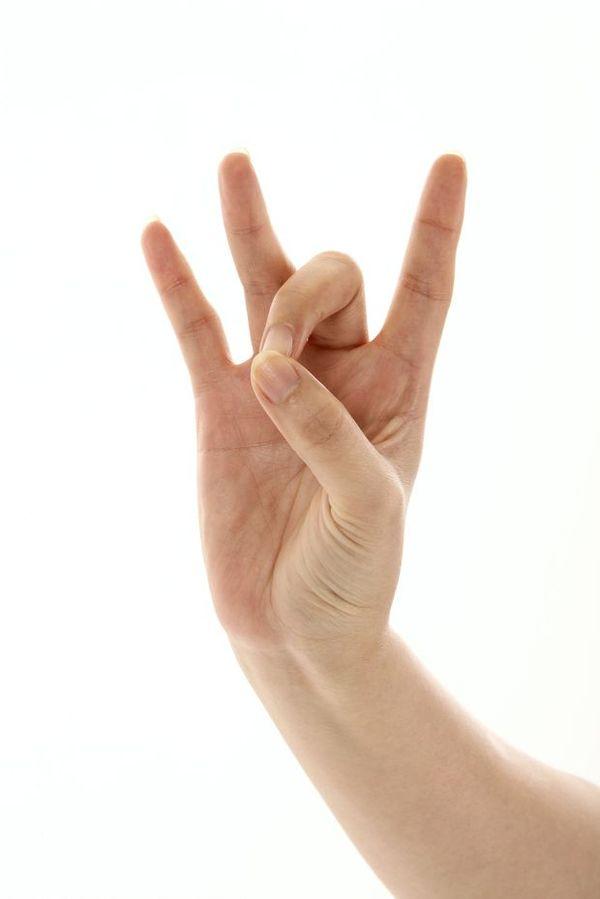 手势喻意图 创意概念图片,,