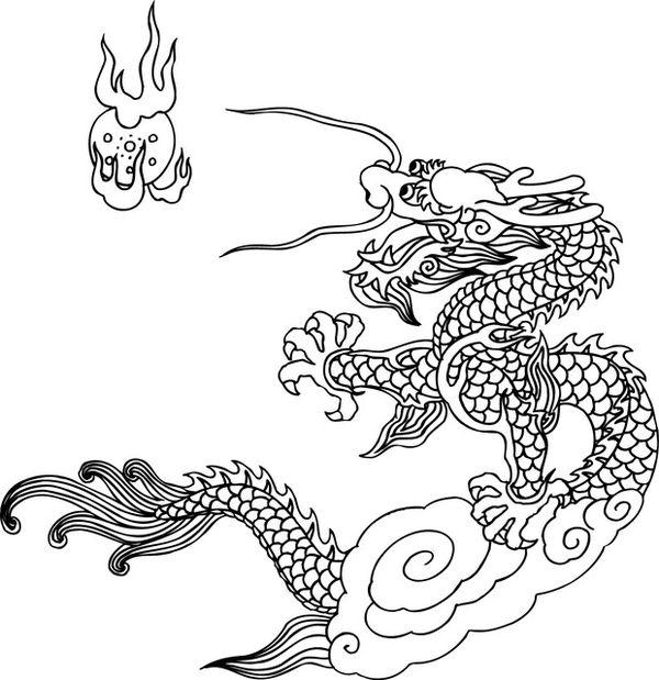 中华龙纹图片 中国传统人文图,中国传统人文,中华龙纹
