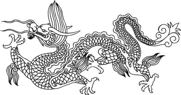 中华龙纹图,中国传统人文图片图片