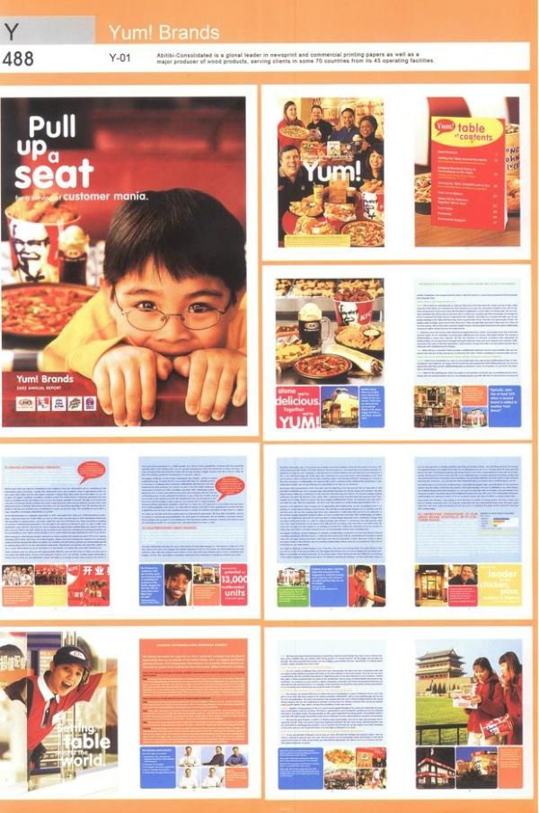 儿童 比萨饼 美食 2007全球500强顶级商业品牌版式设计-2008全球广告图片
