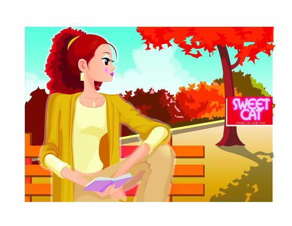 秋色简笔画图片 exo卡通萌图简笔画,简单花边边框简笔画图 高清图片