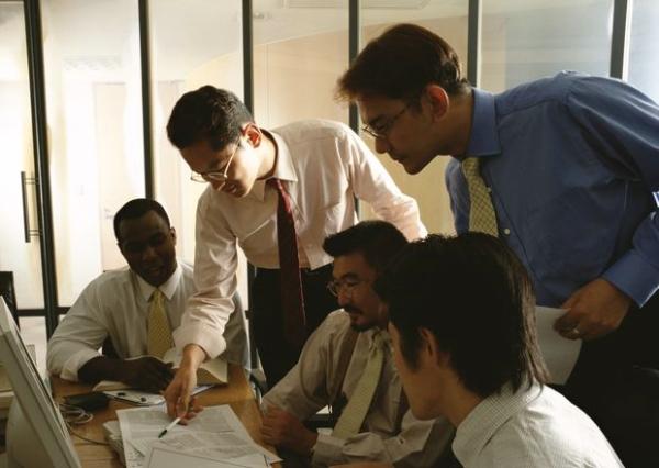 商务会议图,商业人物情景图片