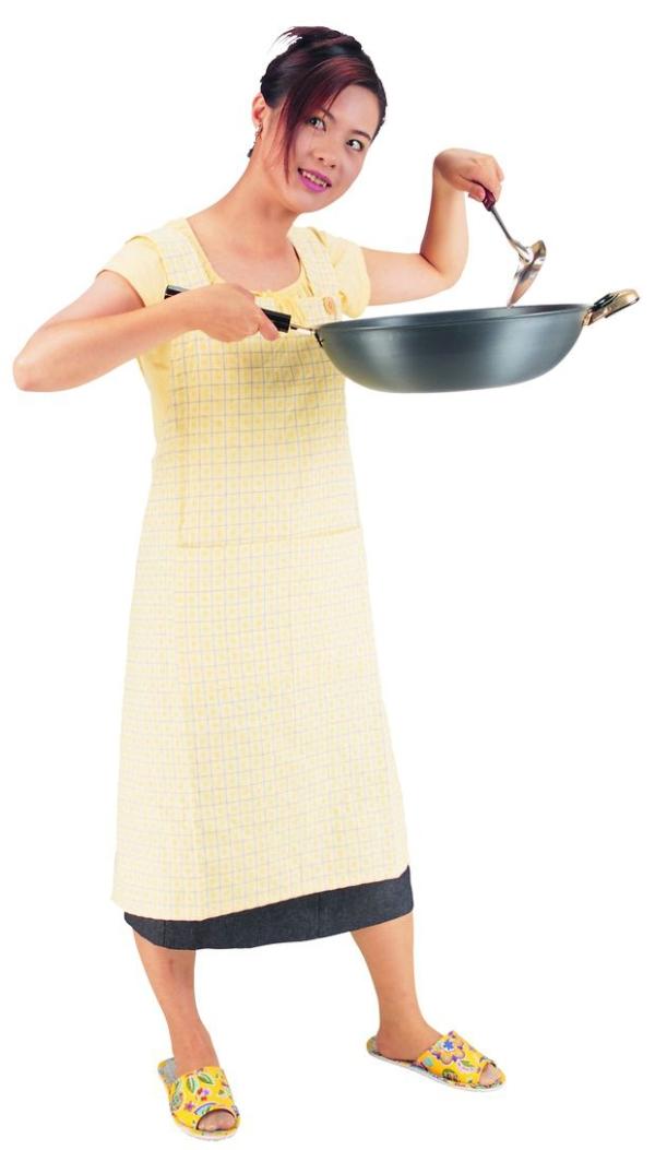 表情图片搞笑图片眼睛时间带的表情-主妇图炒锅姿势炒菜1表情,女性图片