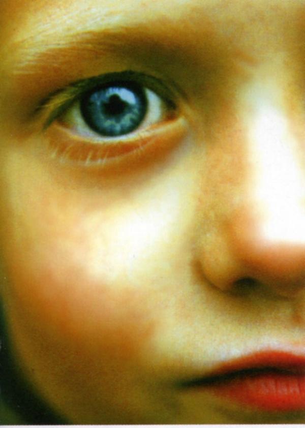 儿童的眼睛 红唇 儿童图片-广告创意-广告创意,儿童图片