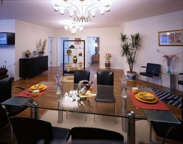 家具图片-装饰图 玻璃桌 饭碗 盘子,装饰,家具